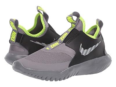 Nike Kids Flex Runner HZ (Big Kid) (Gunsmoke/Reflect Silver/Black/Volt) Kids Shoes