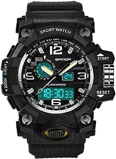 Sport Watch,Han Shi Luxury Electronic Waterproof Cold Light Casual Wristwatch