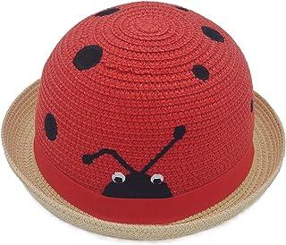 قبعات أطفال بنين بنات مضحكة حفلة ملونة مرنة مقاومة للرياح قبعة أطفال للحماية من الشمس في الهواء الطلق