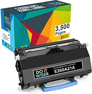 Best Do it Wiser Lexmark E260A21A Compatible Toner Cartridge Replacement for E260, E360, E460, E462 E260A11A (3,500 Pages) Review