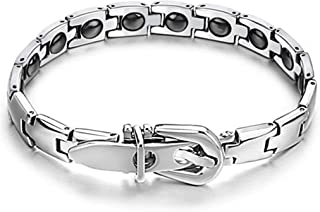 Stylish and Elegant Energy Health Care Magnet Titanium Bracelet for Men