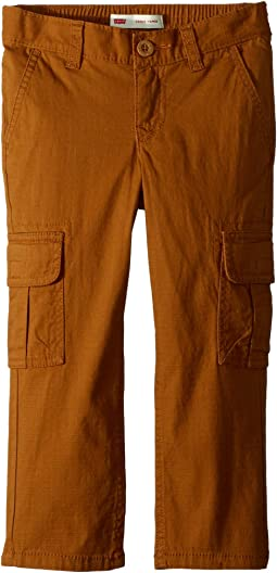 Stretch Cargo Taper Pants (Little Kids)