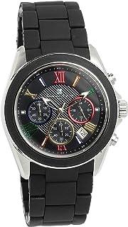 [サルバトーレマーラ]Salvatore Marra 腕時計 ウォッチ クロノグラフ ビジネス フォーマル ブラック メンズ