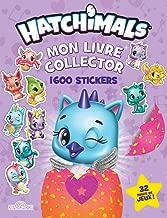Mon livre collector 1 600 stickers Hatchimals
