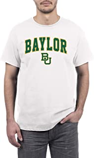 Elite Fan Baylor Bears Men's Short Sleeve Arch Tee, White, Large