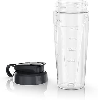 BLACK+DECKER PowerCrush Personal Blender Jar with Travel Lid, Clear, PBJ1650