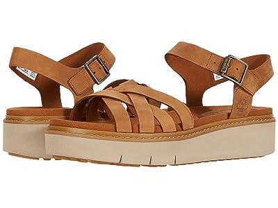 Timberland Safari Dawn Multi Strap Sandal (Rust Nubuck) Women