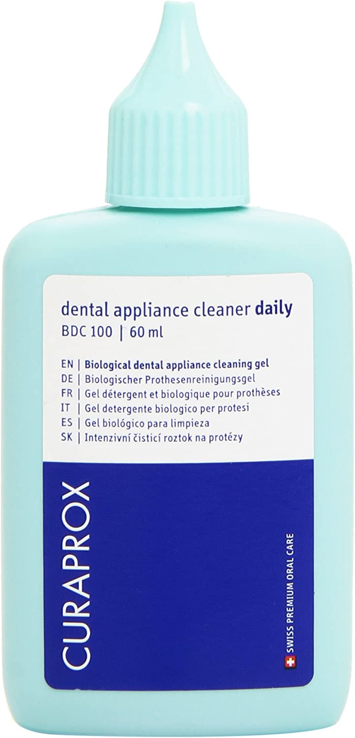 Curaprox Daily Gel Denture 60ml NEW All items free shipping Cleanser