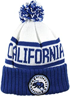 Top Level California Republic Chucky Knit Beanie with Pom Pom(More Colors)