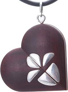 Medaglione in legno con immagini The Illusionist Locket Cuore Foto 5° per fidanzata moglie regalo di compleanno personaliz...