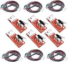 GTIWUNG Módulo de interruptor de límite de final de carrera mecánico, Interruptor óptico De Límite Mecánico Compatible Con La Impresora 3D RepRap RAMPAS 1.4