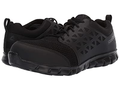 Reebok Work Sublite Cushion Work Comp Toe ESD (Black) Men