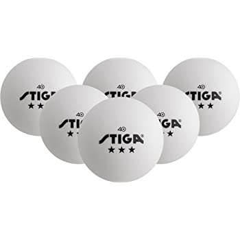 Great for Practice and Training 40mm Seamless Design Recreation Table Tennis Equipment TJ Global Table Tennis Ping Pong Ball Pack of 6 Balls Accessories