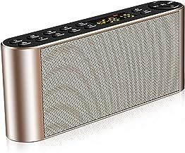 $58 » ZZI Bluetooth Speaker Portable Wireless Speaker with AUX Port/U Disk/TF Card Slot HD Audio Enhanced Bass Dual-Driver Hands...
