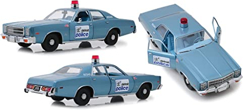 1977 Plymouth Fury Blue Detroit Police Beverly Hills Cop (1984) Movie 1/18 Diecast Model Car by Greenlight 19069