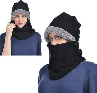 هالو پشم گوسفند Balaclava برای مردان و زنان، ماسک صورت آب و هوای گرم، هود حرارتی، ماسک ماسک اسکی، گردن زمستانی گرمتر، سرپوش محافظ سرامیکی، سرپوش ضد باد برای اسنوبورد، پیاده روی سگ دوچرخه سواری