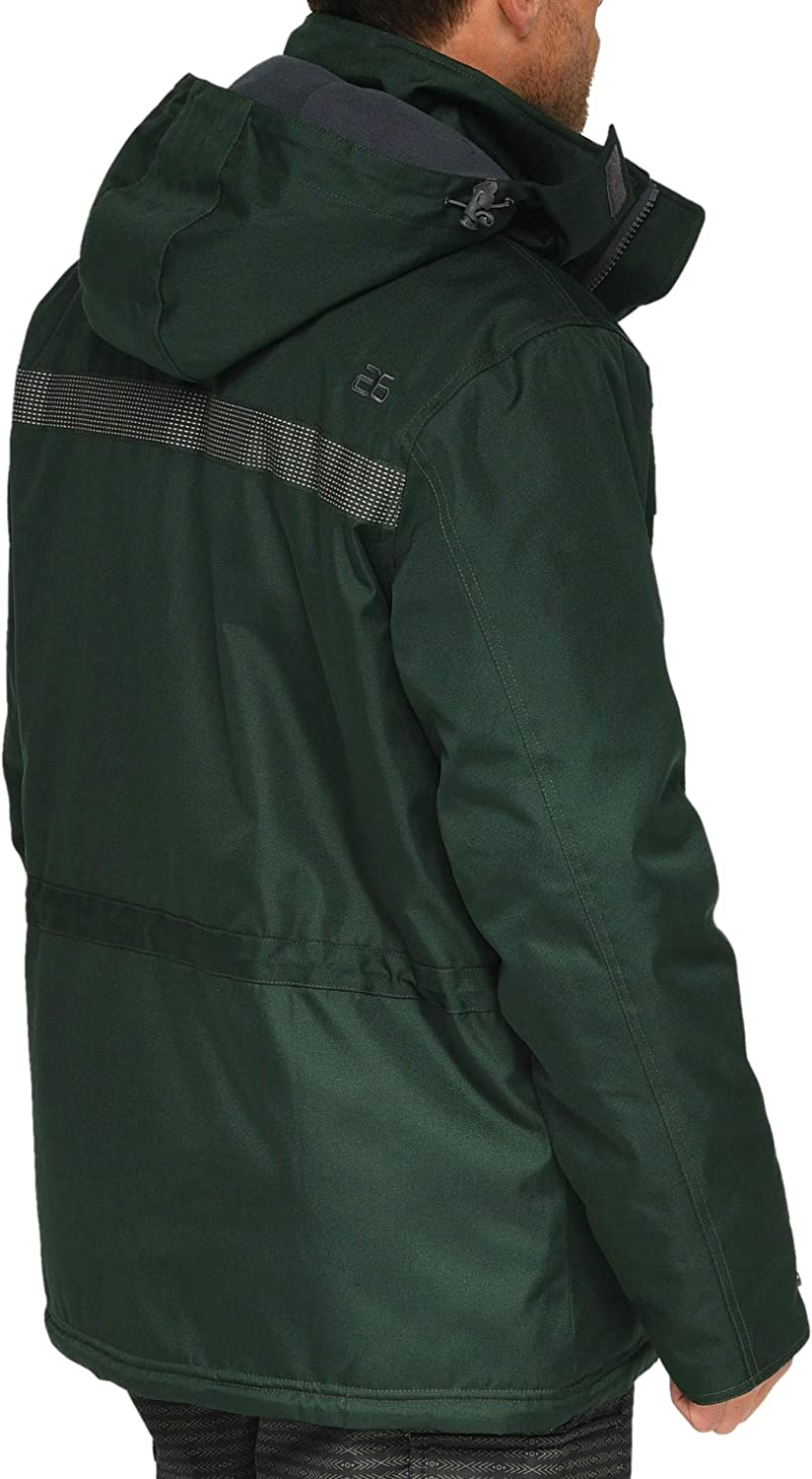 Arctix Mens Performance Tundra Jacket with Added Visibility