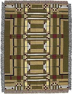Frank Lloyd Wright Oak Park Skylight Tapestry Throw Blanket