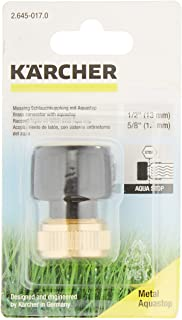 Karcher 26450170 1/2 tum mässing slanganslutning med Aqua Stop
