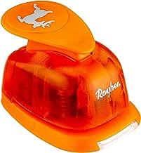 punzonatrice con Decorazione a Forma Ovale dal Diametro 2,54x1,27cm 2,54x1,27cm- 1 Zoll Orange Adatta per Carta e cartoncino con Una grammatura Fino a 200 g//m/² Plastica Rayher