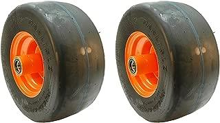 (2) Scag Flat Free Tire Assemblies 13x6.50-6 9278 482504 483050