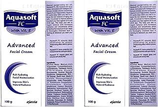 Aquasoft Fc with Vit.E Advanced Facial Cream Moisturizer 100G + 100 G (Pack Of 2 )