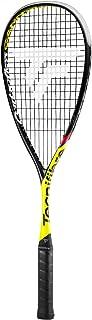 Tecnifibre Carboflex 125 Cannonball Unisex Adult Squash Racquet, Yellow – Black, One Size
