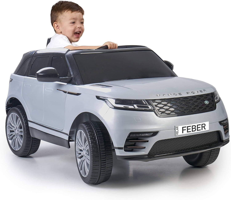 FEBER- Range Rover Velar Coche eléctrico de una Plaza con Luces y Sonidos, niñas de 3 a 7 años, (Famosa 800012449)