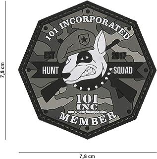 Tactical Attack Sabertooth Skull Softair Sniper PVC Patch Logo Klett inkl gegenseite zum aufn/ähen Paintball Airsoft Abzeichen Fun Outdoor Freizeit