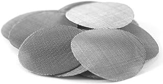 5 Pack 15 mm Utility Screens Rigid Concave Filters Titanium Inline Strainers .59 inch