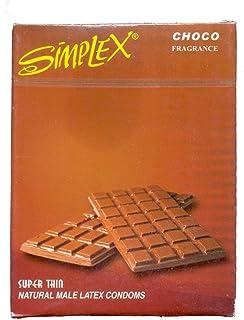 مجموعة 3 عبوات من سيمبلكس واقى ذكرى بالشوكولاته-3 قطع