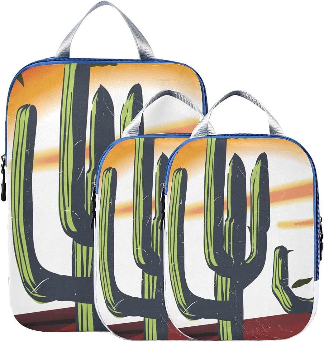 Packing Organizers Animer and price revision For Luggage Illustratio Arizona Memphis Mall Desert Cactus