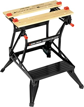 BLACK+DECKER WM536-XE Workmate® Dual Height Workbench, Black