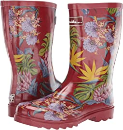 Mid Calf Rain Boot