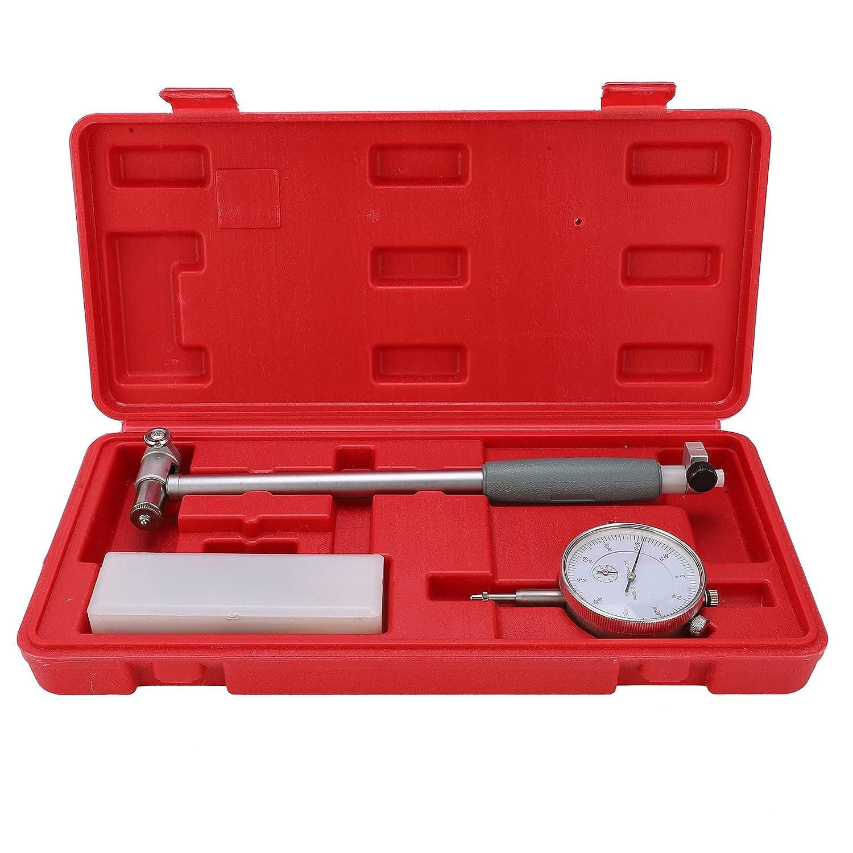 50-160MM Indicador de Prueba,Herramientas Correa Reloj Calibre de Diámetro Kit de Herramientas de Medición del Cilindro del Motor Reloj Comparador para Medir las Dimensiones Internas