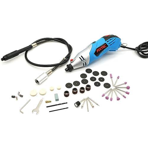 Fixtec® Expert 170W Outil rotatif multi-usage, Kit Mini Grinder, Avec boîte de kit,40 Accessoires