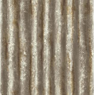 A-Street Prints 2701-22334 Corrugated Metal Rust Industrial Texture