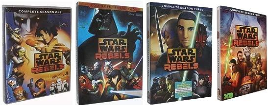 Star Wars Rebels: Complete Series Seasons 1-4 DVD