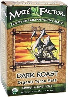 THE MATE FACTOR Dark Roast Yerba Mate Teabags, 20 CT