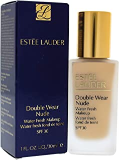 Estee Lauder Double Wear Nude Water Fresh Makeup SPF 30 for Women, 1W2 Sand, 30ml