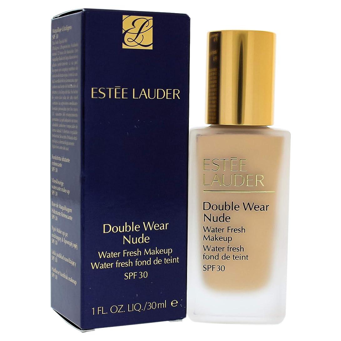 適用済み考案するあたたかいエスティローダー Double Wear Nude Water Fresh Makeup SPF 30 - # 1W2 Sand 30ml/1oz並行輸入品