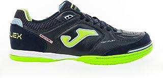 Joma Top Flex Indoor Soccer Shoe (Navy/Lime
