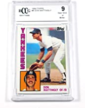 don mattingly cards