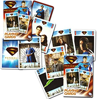 DC Comics Superman Playing Cards By Bicycle (2 Decks)
