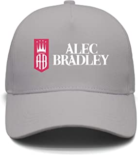 Men Women Adjustable ALEC-Bradley-Logo- Trucker Dad Baseball Hats Cap