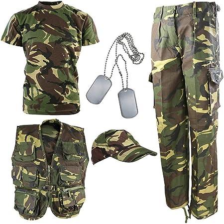 Kombat UK Kid's DPM Camouflage Explorer Army Kit, Camo, 12-13 Years