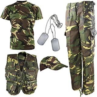 Kombat UK niños Kit del ejército DPM Camuflaje Explorer