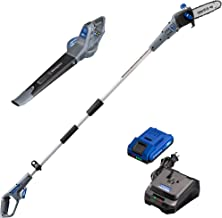 Westinghouse Cordless Leaf Blower and Pole Saw, 2.0 Ah Battery and Rapid Charger Included