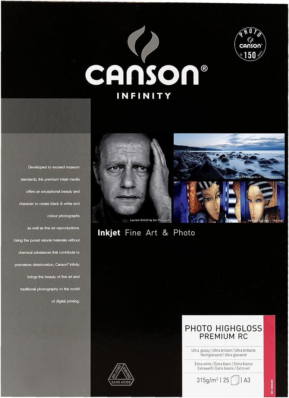 Canson 200002285 Photo HighGloss Premium RC RC RC Box, Photopapier, A3 B00372AESG   Elegante Und Stabile Verpackung  8f1a0f