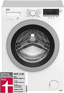 Beko WYAW 714831 LS Waschmaschine Frontlader / A / 1400 UpM / Selbstreinigung / Watersafe / Mengenautomatik / 16 Programme